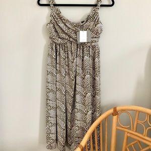 New Liz Claiborne XS Dress Sleeveless A Line Olive